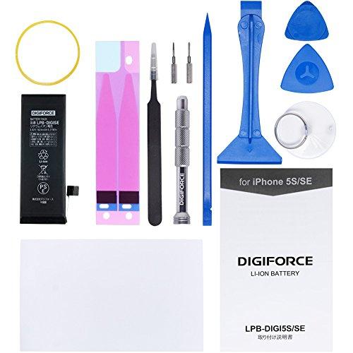 DIGIFORCE LPB-DIGISE 互換バッテリー 説明書・工具付 PSEマーク表示