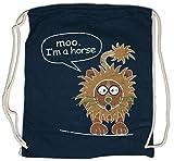 Urban Backwoods Moo I'm A Horse Turnbeutel Sporttasche