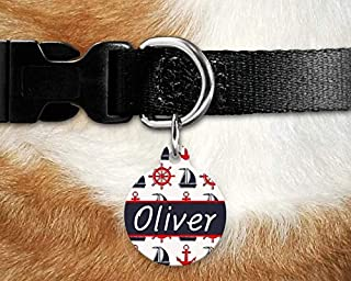ANL Dog Tag and collar Custom Personalized Leather Rhinestone pet ID tag and collar for Dogs Cats PO9988 Stainless steel dog tag