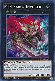Yu-Gi-Oh! - M-X-Saber Invoker - BLLR-EN063 - Secret Rare - 1st Edition - Battles of Legend: Light's Revenge