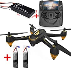 HUBSAN H501S Drone GPS FPV with 1080P HD Camera 5.8G Live Video RC Quadcopter Follow me ,Altitude Mode,Automatic Return, Headless Mode Great for Adults with Two of Drone Batteries(Upgraded Version )