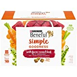 Purina Beneful Dry Dog Food, Simple Goodness With Farm...