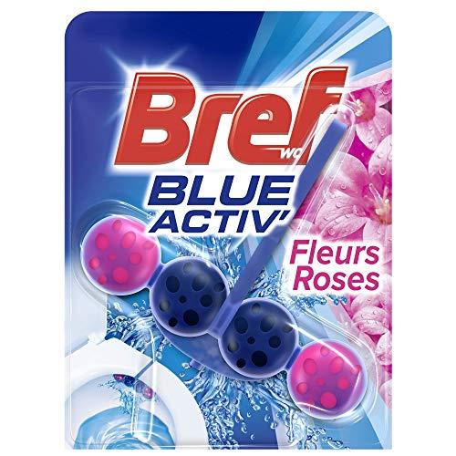 Bref Blue Activ Fleurs Roses Blocs Nettoyants WC