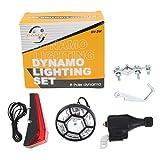 Vélo Vélo Dynamo Head & Feux arrière Set Cycle de sécurité électrique Non Besoin de Piles
