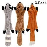 IN HAND Squeaky Dog Toys, Paquete de 3 Juguetes interactivos duraderos Set de Perros, Juego de Mascotas Dog Sound Chew Squeaker para Perros Peque?os y medianos