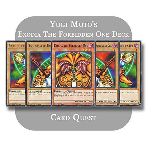 Yu-Gi-Oh! - Yugi Muto's Complete Exodia The Forbidden One OTK Deck