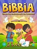 Bibbia: Libro da colorare per bambini: 35 pagine a colori con racconti biblici e scritture per ragazzi da 3 a 10 anni