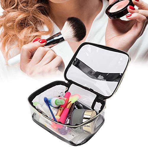 Draagbare transparante make-up tas, waterdichte pvc-marmering ritssluiting make-up tas, 2 kleuren 2