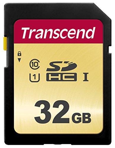 Transcend 32GB SDXC/SDHC 500S Speicherkarte TS32GSDC500S / bis zu 95 MBs lesen und 65 MBs schreiben