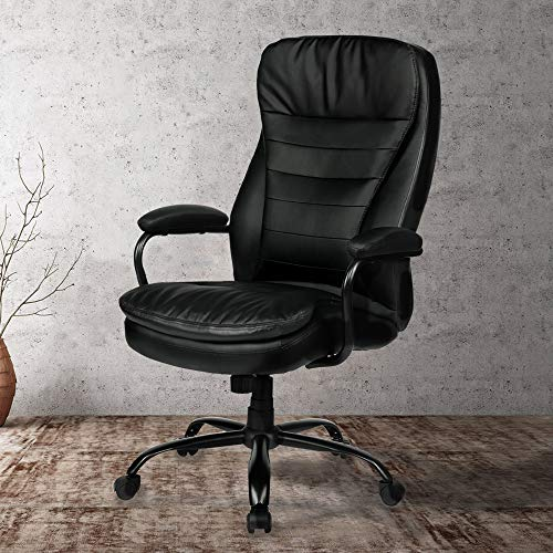 Our #8 Pick is the Amolife Big and Tall Office Chair