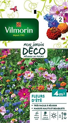 Vilmorin 5860042 Jolie fleur, Multicolore, 90 x 2 x 160 cm