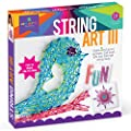 Craft-tastic - String Art Kit - Craft Kit Makes 3 Large String Art Canvases - Bird Edition
