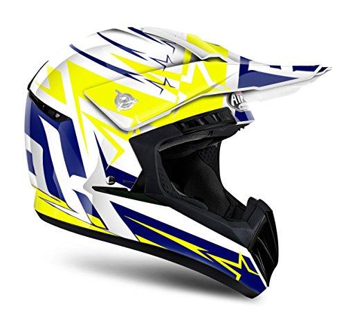 Airoh Motorrad Helme Yellow, Größe XL