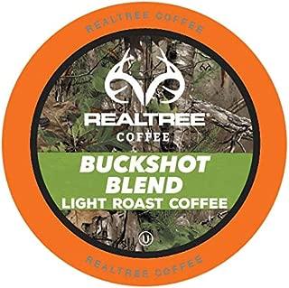Realtree Buckshot Blend Light Roast Coffee Pods for Keurig K-Cup Brewers, 40 Count