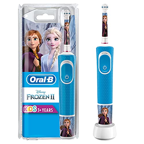 Oral B Kids Electric Rechargeable Toothbrush, Featuring Frozen Characters