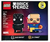2016 SDCC Exclusive LEGO Brick Headz Marvel Comics Black Panther & Dr. Strange 41493