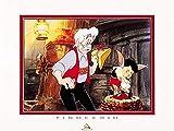 Demons Merveilles Poster Kunstdruck Pinocchio & Gepetto