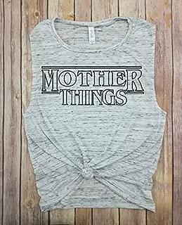 Mother Things Tank, Black, Upside Down Tank, Upside Down, Stranger Things, Stranger Things Shirt, Stranger Things Shirts, Stranger Things Tshirt, Stranger Thing tshirts