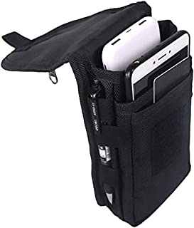 Large Smartphone Pouch, Cell Phone Holder, Tactical Phone Holster, Multi-Purpose Tool Holder, Tactical Carrying Case Belt ...