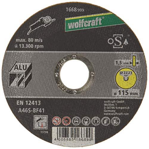 Wolfcraft Productos abrasivos y de acabado