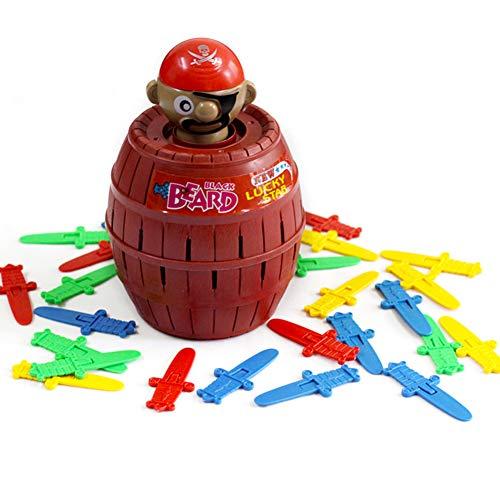 Tafelspellen Pop-Up Piraat Kinderen Actie Bordspel Speelgoed Klassiek Grappig Spel Feest Familie Speelgoed Voor Jongens, Meisjes, Volwassenen (Boekanier)