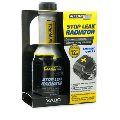 XADO ATOMEX Stop Leak Radiator Coolant/Antifreeze Additive - Restore Radiator Parts & Prevent Future...