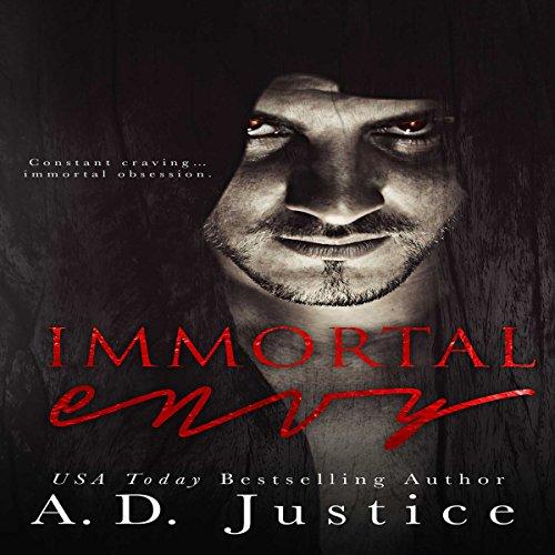 Immortal Envy audiobook cover art
