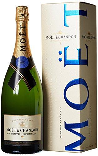 Moet & Ch. Res.Imp. Champagne con astuccio, 1.5 l