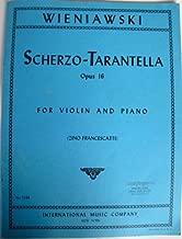 Best scherzo tarantelle violin sheet music Reviews