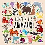 Comptez les animaux! Un livre de puzzle amusant pour les 2-5 ans