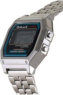 اوماكس ساعة رسمية للجنسين رقمي معدن - LCD-M283