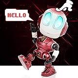 Peradix Robots Jouet parlants interactif avec lumières LED illuminées et Fonction...