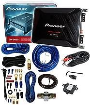 Pioneer GM-D8601 4 Gauge 1600W Monoblock Class-D Car Amplifier + Amplifier Wiring Kit