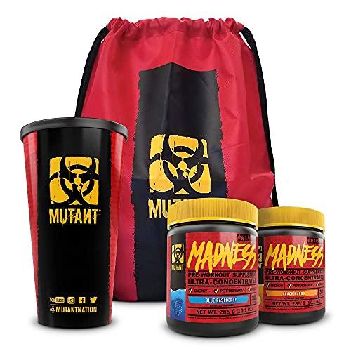 Mutant Madness Sugar-Free Pre-Workout Powder