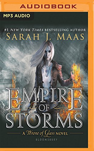 EMPIRE OF STORMS            2M (Throne of Glass)