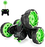 RC Cars Off-Road, 4WD Remote Control Monster Truck Rotate 360 Double Sided Race Car Radio, MakeTheOne Electric Stunt Rock Crawler, Unstoppable RTR Buggy High Speed