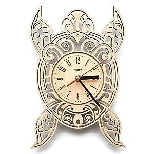 51KYuFJsXjL._SS300_ Coastal Wall Clocks & Beach Wall Clocks