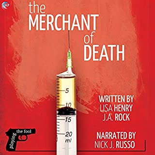 The Merchant of Death audiobook cover art