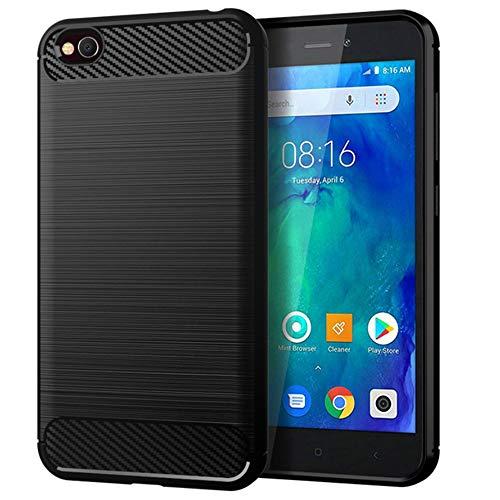 United Case Bumper Fino para Xiaomi Redmi Y1 (Note 5A) | Negro | TPU Elegante | Opaco