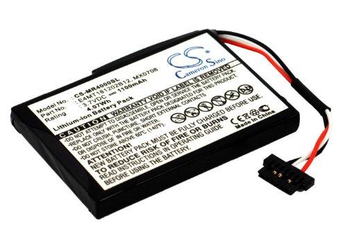 Bateria GPS Magellan Maestro 4000, Maestro 4010, Maestro 4000T, Maestro 4040, Ma, Li-Ion, 1100 mAh