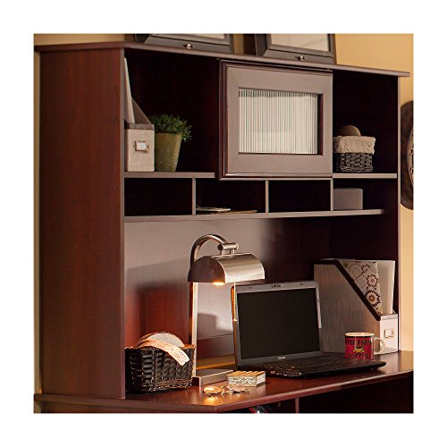 Bush Furniture WC31431-03 Cabot 60W Hutch, Harvest Cherry