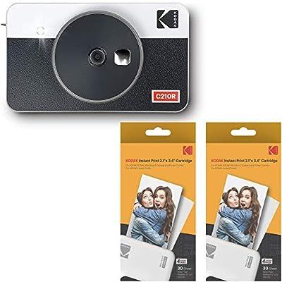 Kodak Mini Shot 2 Retro Portable Wireless Instant Camera & Photo Printer - White from Prinics Co., Ltd.