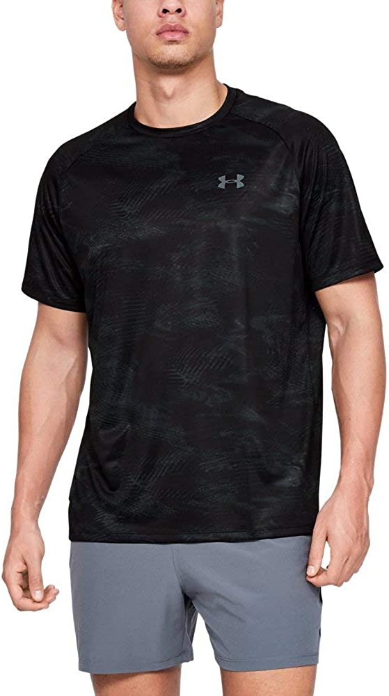 Under Armour Baltimore Mall Mens Tech Outlet ☆ Free Shipping Printed 2.0 Sleeve Short T-Shirt