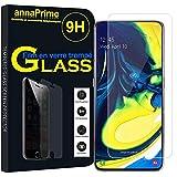 annaPrime® 1 Film Vitre Verre Trempé de Protection d'écran pour Samsung Galaxy A80/ A90 6.7'...