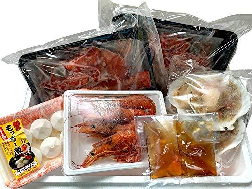 きんき鍋セット (アラスカキチジ使用)豪華キンキ鍋 (めんめ 赤えび ほたて もっちー煮鮭) 吉次を使用した海鮮鍋 (お歳暮・贈答・プレゼント・ギフト) 贈り物に最適
