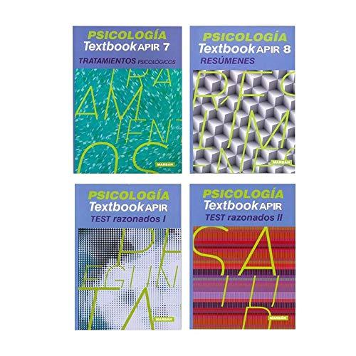 Pack 4 libros de Resúmenes, Tratamientos y Test Psicología
