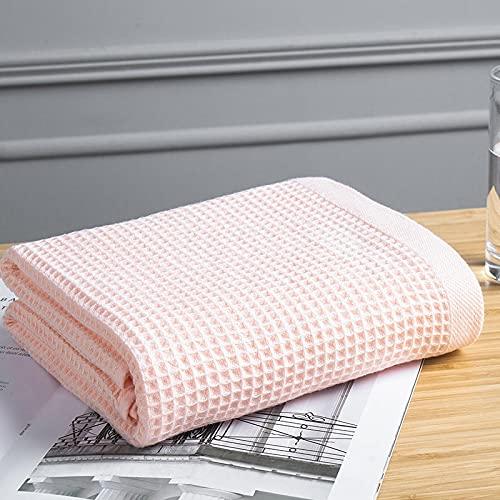 ShSnnwrl Bale Hand Towels Wash Baño de algodón Suave para Adultos Juego de Toallas de baño absorbentes Toalla de Cuidado Facial a Cuadros de Col