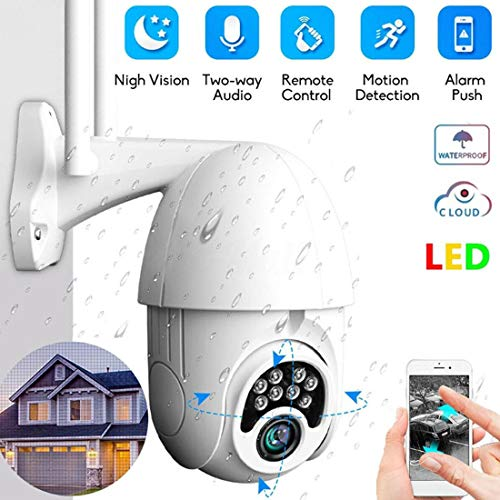1080P Security Outdoor Camera Wireless WiFi Network