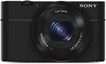 Sony DSC-RX100 Cybershot 20.2MP Point & Shoot Digital Camera with 3.6X Optical Zoom (Black)