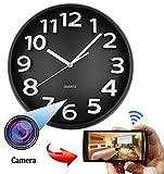 SPYCENT WiFi HD SPY Hidden IP Camera DVR Wall Clock Real-Time